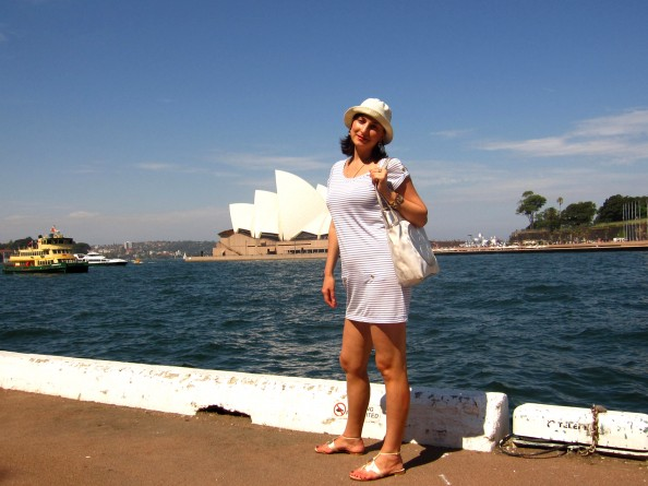 Date outfit in Sydney