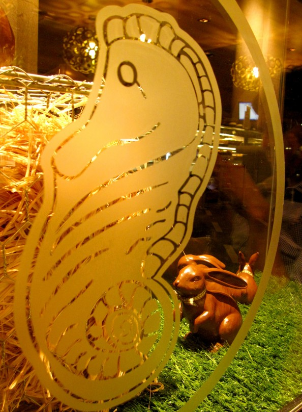 Chocolate rabbit, Easter, Guylian chocolate cafe, Sydney, Crashingred, lifestyle blog