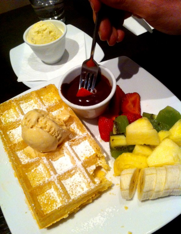 Guylian belgian waffles, Sydney, crashingred, blog