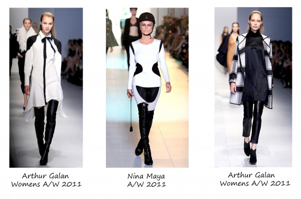 Structured Black and white, Arthur Galan, Nina Maya, Autumn 2011, LMFF