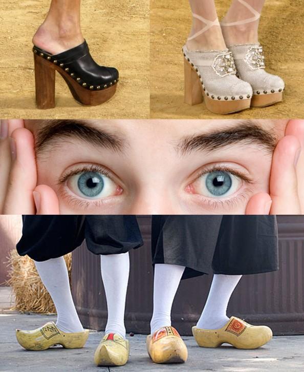 Clogs, shocking fashion style, shoes, CrashingRed, fashion blog