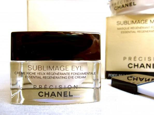Sublimage Essential regenerating eye cream, antiageing cream, CrashingRed, product review