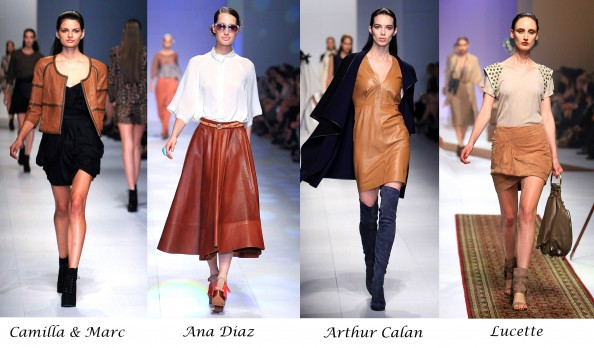 Trend report, LMMF 2011, new season, Winter 2011, Australian designers, beige leather