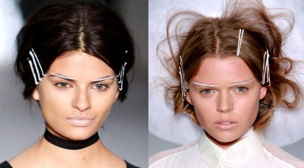 Gail Soronda, RAFW 2011, futuristic makeup, glowing skin, nude lips, makeup trend, Sydney fashion blog