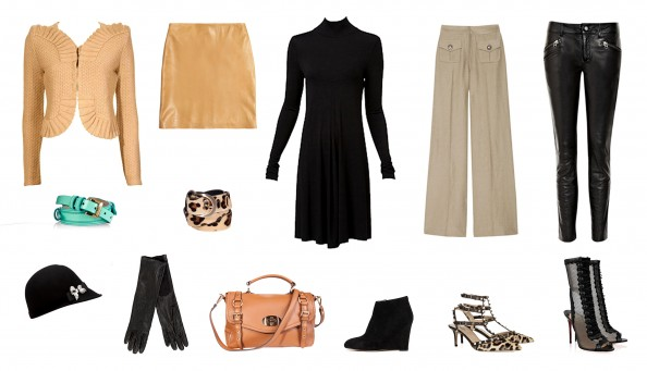 Must have list, clothing, leather, camel, leopard print, lace heels, leather skirt, shoes for new season, style ideas for new season 2012, Sydney fashion blog, crashingred