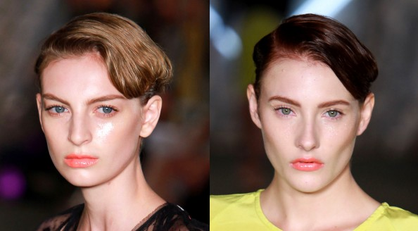 Therese Rawsthorne, RAFW 2011, fashion week, new season makeup trend, glowing skin, peachy lips, fashion Sydney blog