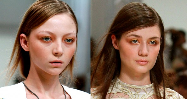 Zimmermann, makeup trend, orange beige eyeshadow, Sydney fashion blog, crashingred