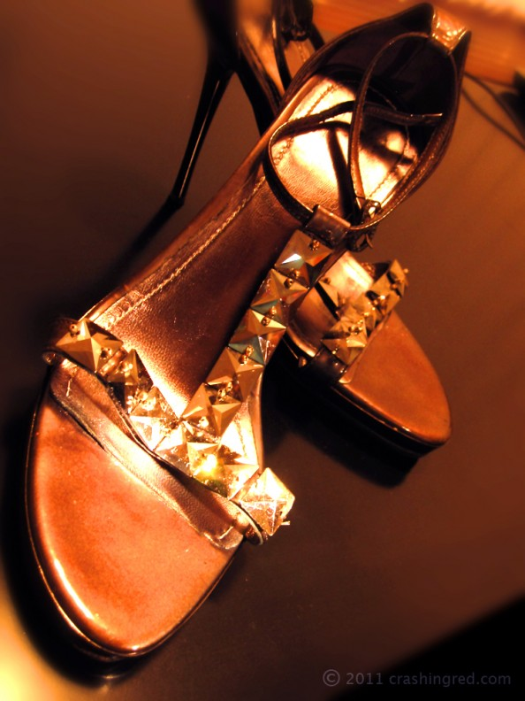 ode to heels, RAFW fashion tribalism, fashion blogger, Sydney, high heels with crystals, metal heels, chic style