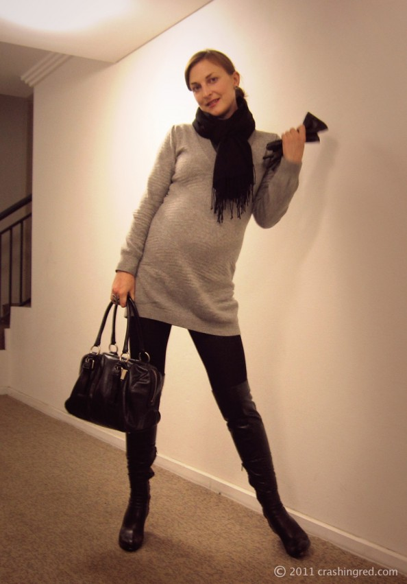 Outfit of the day_winter_style_styling ideas_fashion blog_over knee boots_Sydney_maria Vlezko_CrashingRed 02