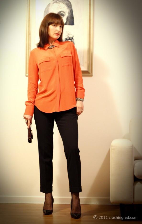 Marusya V fashion blogger australia, styling bright color, new season fashion trends, musculine style