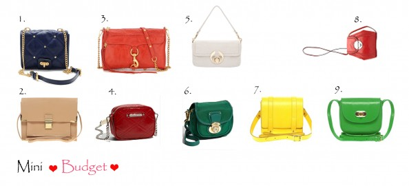 mini bags bright colors affordable new season fashion style bags for winter 2012 summer 2011, fashion blog Sydney,