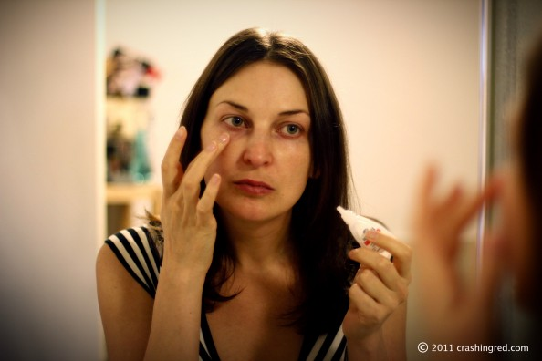 covering dark circles under eyes, make up tips, sydney fashion beauty blog