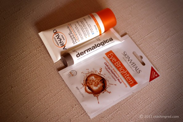 best masques for summer, dermalogica hydrating mask, eye brighten, product review, beauty blog australia