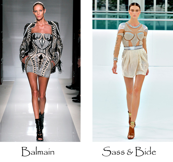 embellished dress, bodycon, party style dressing up, fashion trends 2012, top fashion blog australia, balmain, sass and bide