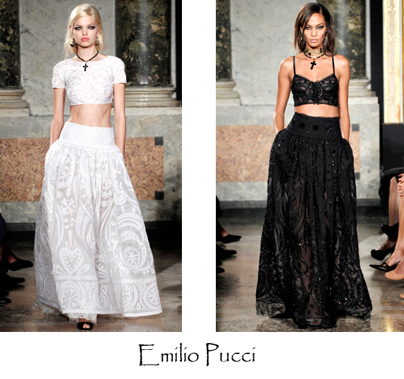 evening style, party dress, maxi and bandeau tops, cropped tops, fashion trends 2012, sydney fashion blog