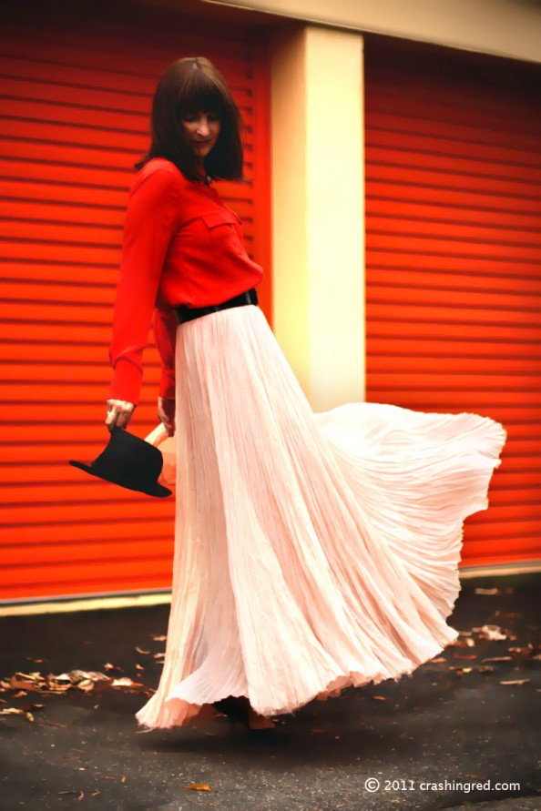 how to style maxi skirt, summer 2012, fashion blog sydney