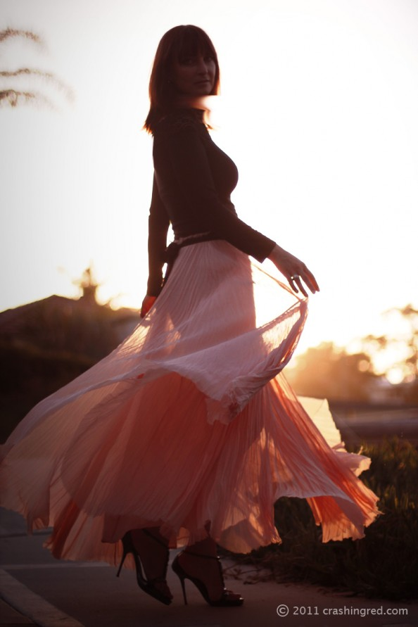 maxi skirt, evening 2012 fashion, dressing up, fashion blog australia