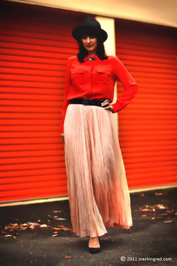 styling maxi skirt, summer 2012 season, fashion blog sydney