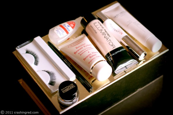 makeup for party beauty products, clarins, face of australia, beauty blog sydney