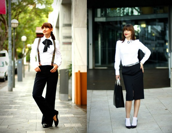 masculine style for women, socks worn with shoes, business style, sydney fashion blog
