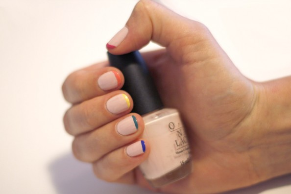 pretty nails diy, spring fashion trend, neon and pastel, easy mnaicure diy, sydney blog