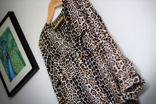 cheetah print zara blouse, african trend summer 2012, fashion blog