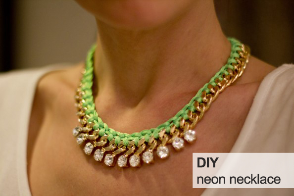 diy-neon-rope-necklace-diy-woven-gold-chain-necklace
