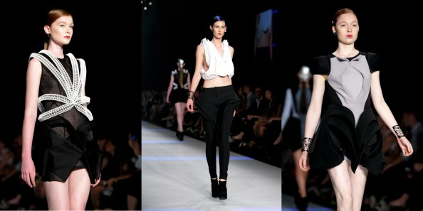 National Graduate showcase, Australian emerging designers, Natalia Grzybowski, lmff 2012, new fashion designers, Amelia Agosta