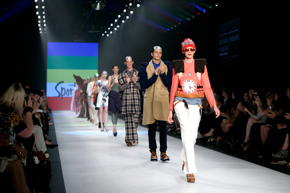 National Graduate showcase, Australian emerging designers, finale runways, LMFF 2012, sydney fashion blog
