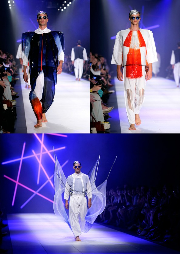 National Graduate showcase, new avangarde designers,  LMFF 2012, sydney fashion blog, Tayler Ainley