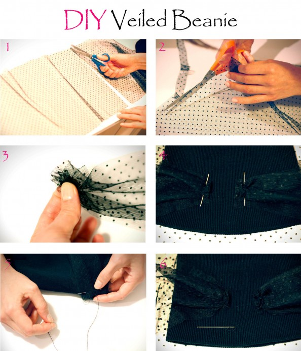 how to diy veiled beanie, jils sander beanie, fashion blog sydney, diy blog
