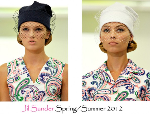 jils sander veiled beanie balck, summer trend 2012, fashion blog