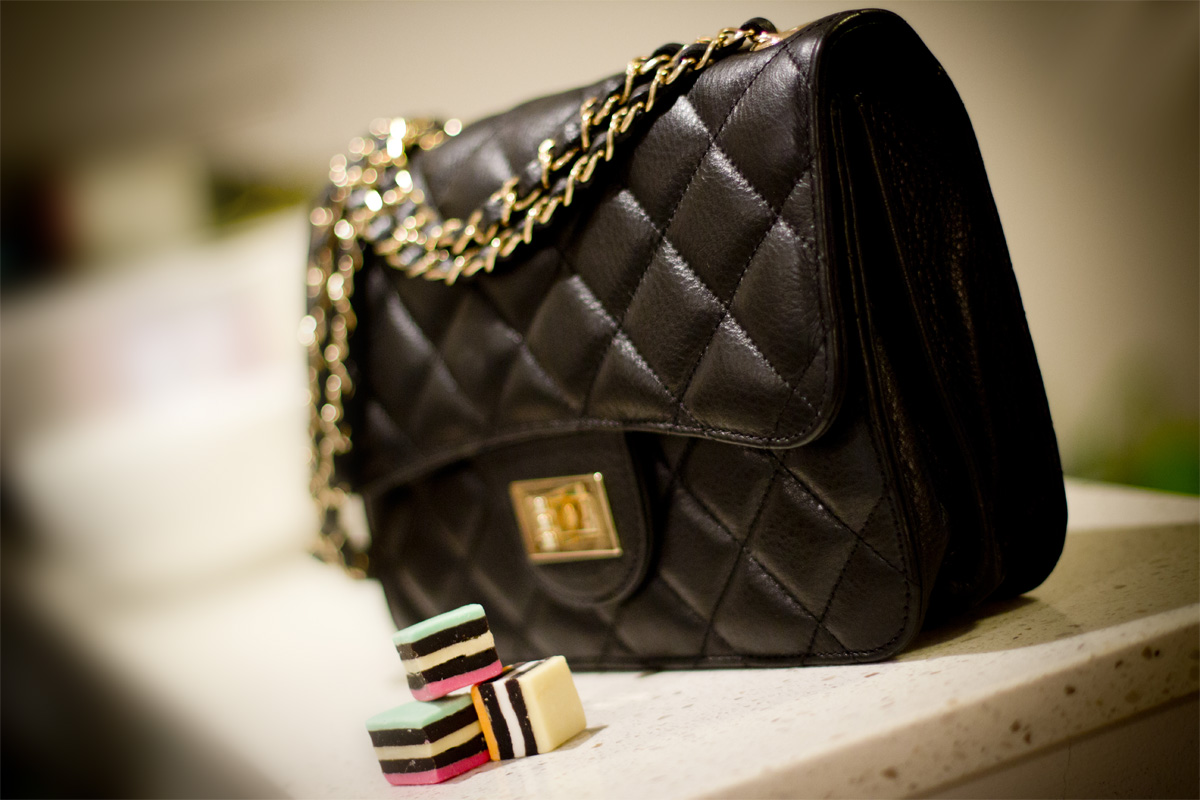 Quilted Leather Chanel Bag Quilted Leather Bag
