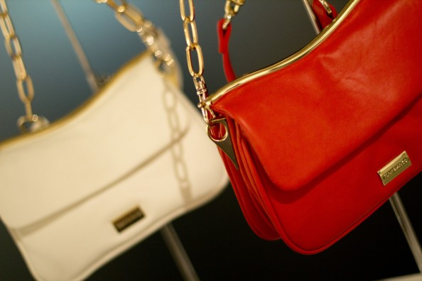 red and nude gold chain bag tony bainco bags