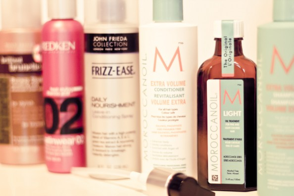 hair products to get shiny hair