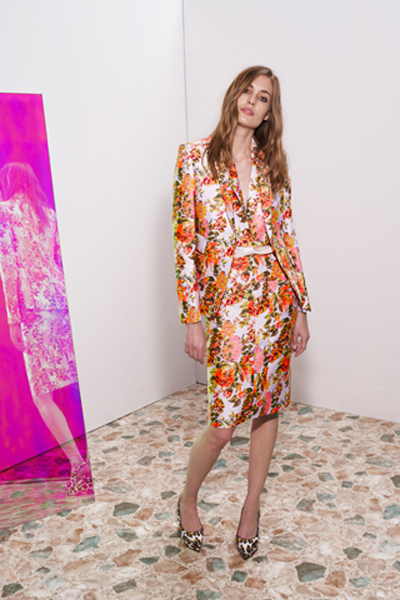 stella mccartney floral suit