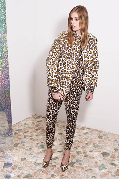 stella mccartney leopard suit