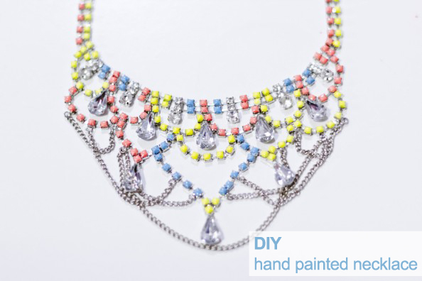 hand-painted-DIY-neon-necklace