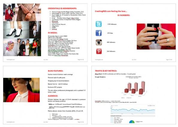 media kit sample