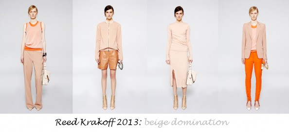 reed krakoff resort 2013 summer fashion trends