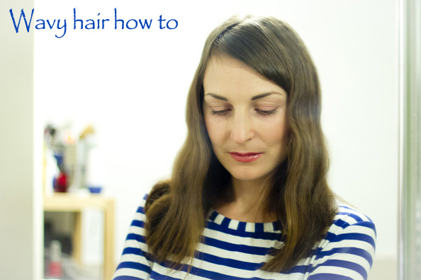 wavy hair how to tutorial