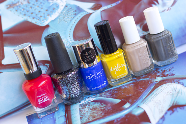 new nail polishes shades summer 2013