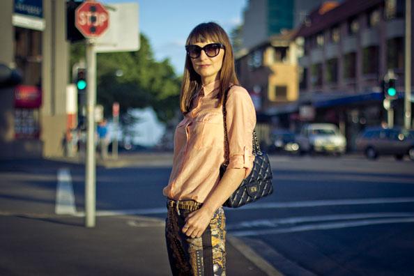 maurie and eve pants, prada sunglasses