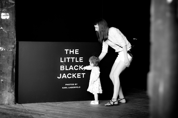 the little black jacket chanel exhibition