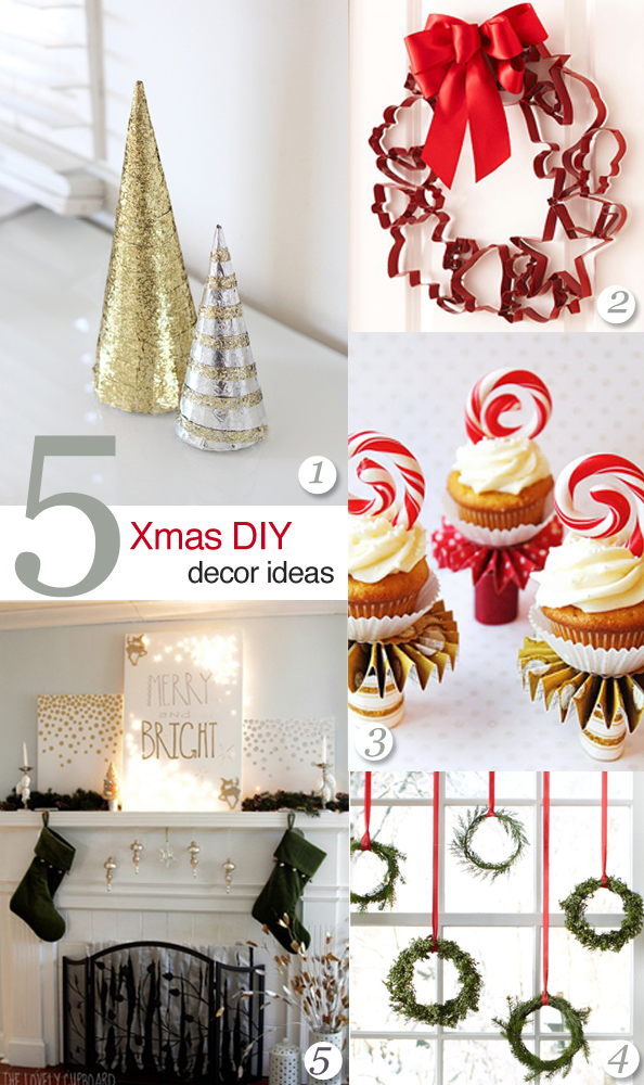 Crashingred 5 diy christmas decor ideas crashingred Christmas decorating diy