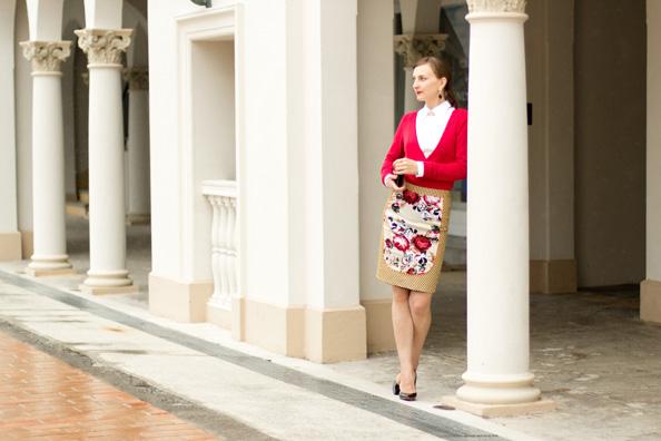 floral print outfit, manly pavillion sydney