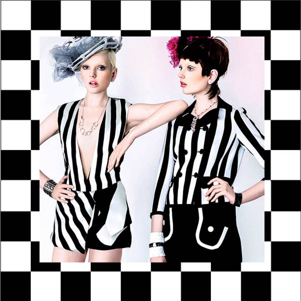 stripes, monochrome fashion