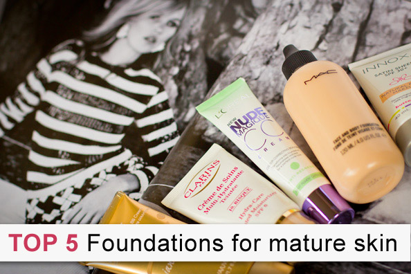 top foundations for mature skin