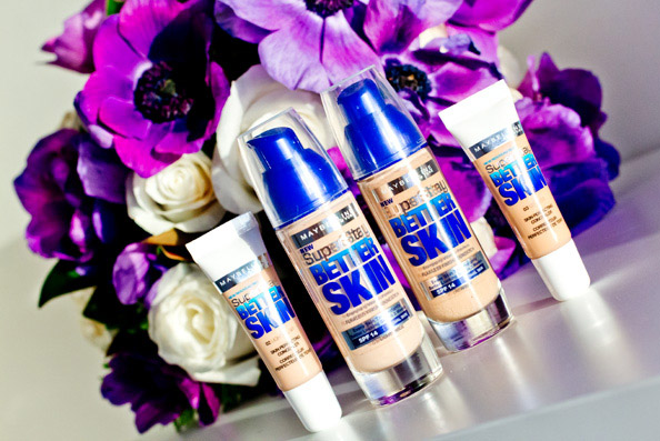 maybelline superstay better skin foundation review