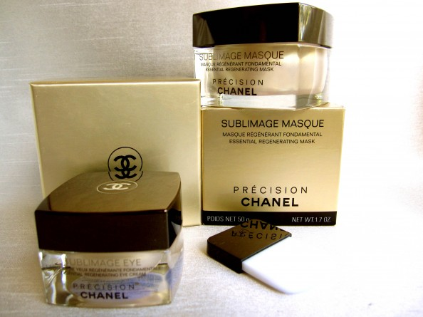 Essential regenerating Chanel Sublimage Mask, Eye Cream, antiageing skincare, CrashingRed, Sydney, beauty blog, product review
